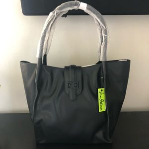 NWT SAM EDELMAN WEYLYN TOTE BAG & REMOVABLE POUCH